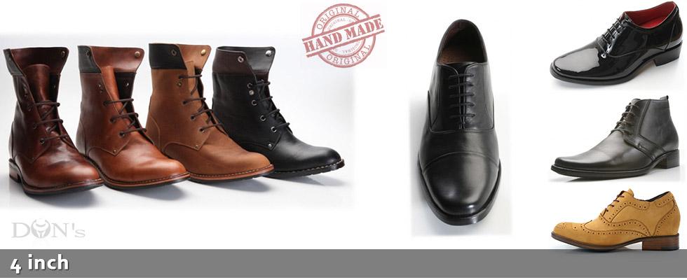 4 Inch Elevator Shoes for Men