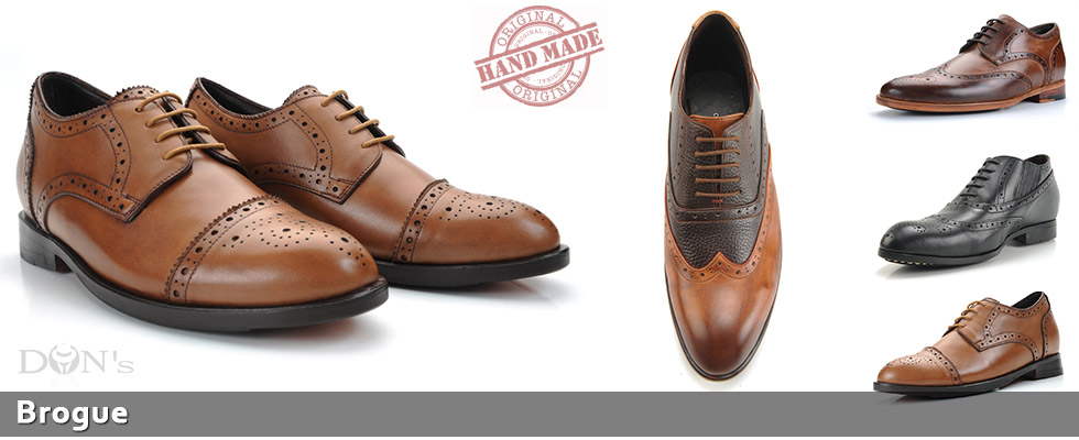 Brogue Elevator Shoes for Men